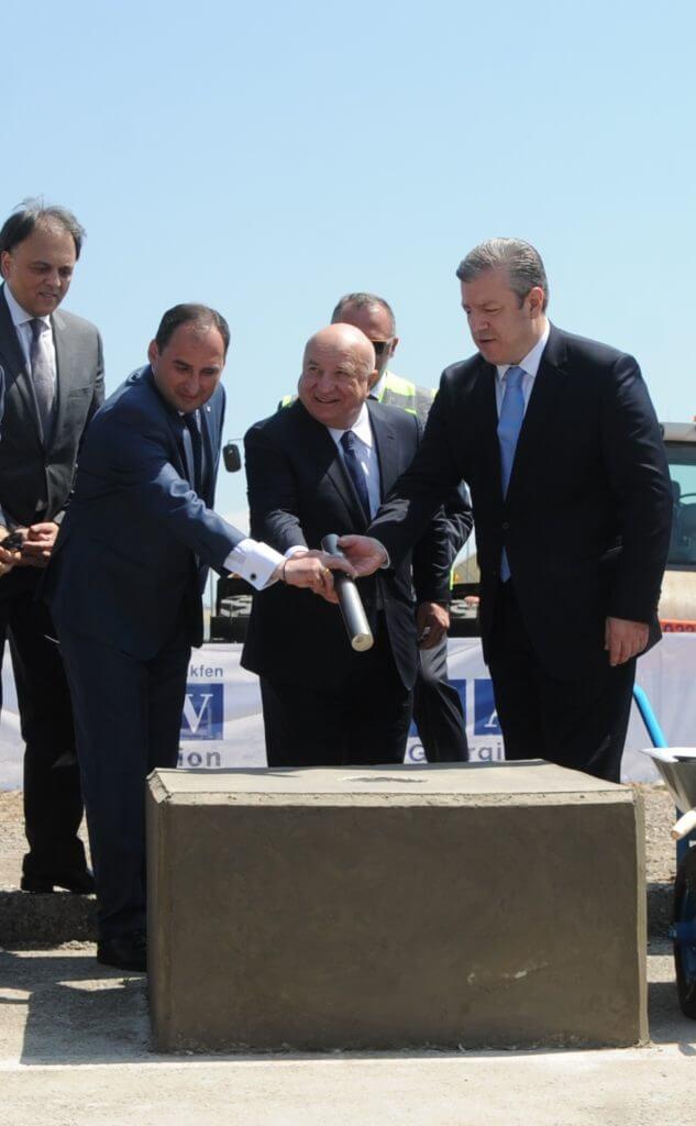 Turkey's TAV breaks ground on new Tbilisi Airport terminal