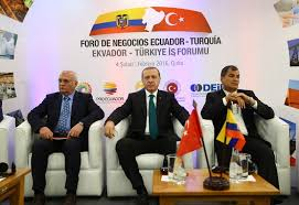 4 STEPS THAT CONNECTS TURKEY AND SOUTH AMERICA