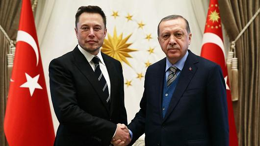 ELON MUSK'S VISIT TO TURKEY 2