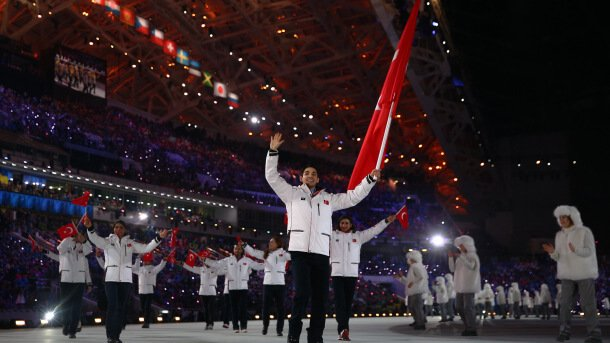 TURKEY'S PRIDE IN WINTER OLYMPICS