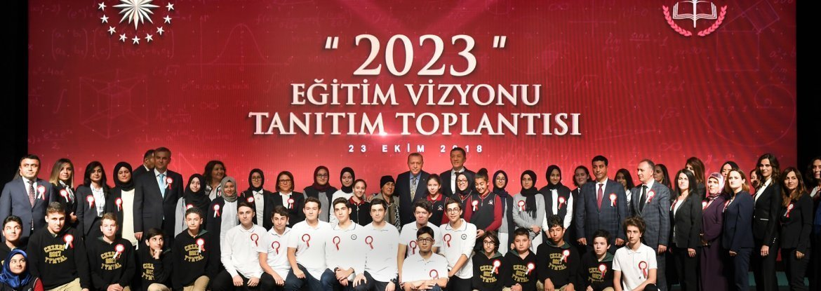 2023 TURKEY EDUCATION VISION ANNOUNCED