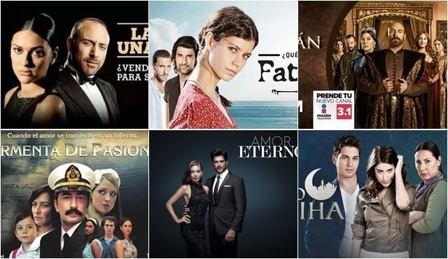 TURKISH TV SERIES HAVE A BIG IMPACT IN SOUTH AMERICA