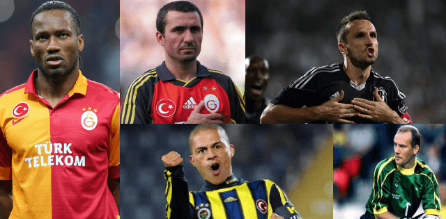 ALL TIME TOP 10 FOREIGN FOOTBALL PLAYERS IN TURKEY