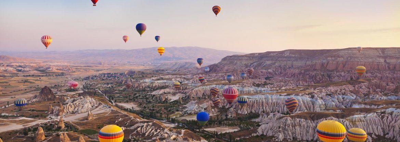 TURKEY'S FIRST INTERNATIONAL BALLOON FESTIVAL IN CAPPADOCIA 2
