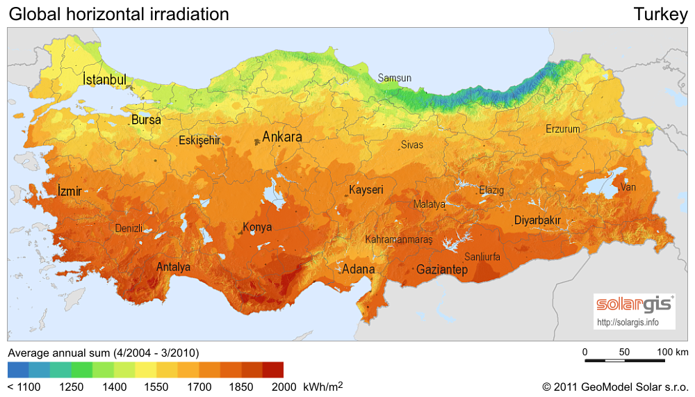 TURKEY'S GREAT POTENTIAL IN SOLAR ENERGY 16