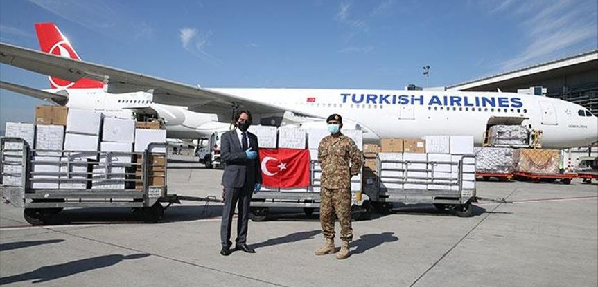 TURKEY SENDS MEDICAL EQUIPMENTS ALL OVER THE WORLD AGAINST COVID-19 2
