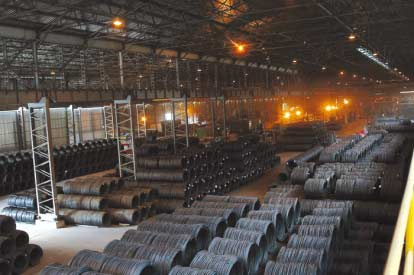 TURKISH IRON STEEL SALES INCREASE IN FAR EAST 10